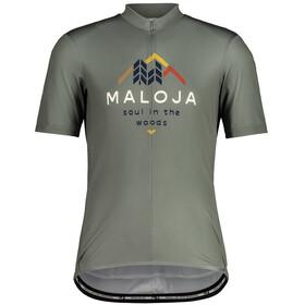 Maloja SchwarzerleM. 1/2 Short Sleeve Bike Jersey Men, groen